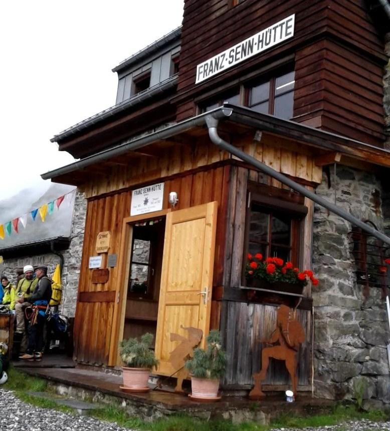 Franz Senn Hütte, Stubai Höhenweg. © Karin Robertson