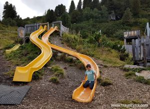 The Murmelland on the Zillertal High Alpine Road has a great play area for kids.