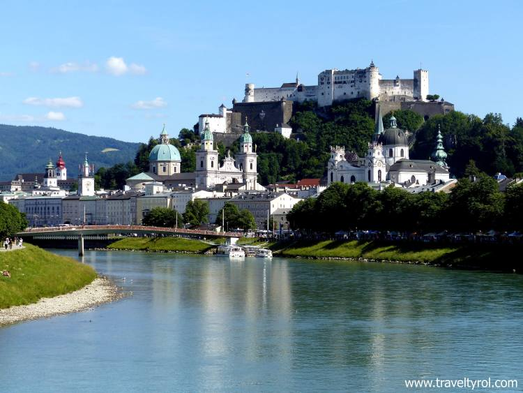 A cruise on the Salzach River is included in the Salzburg Card.