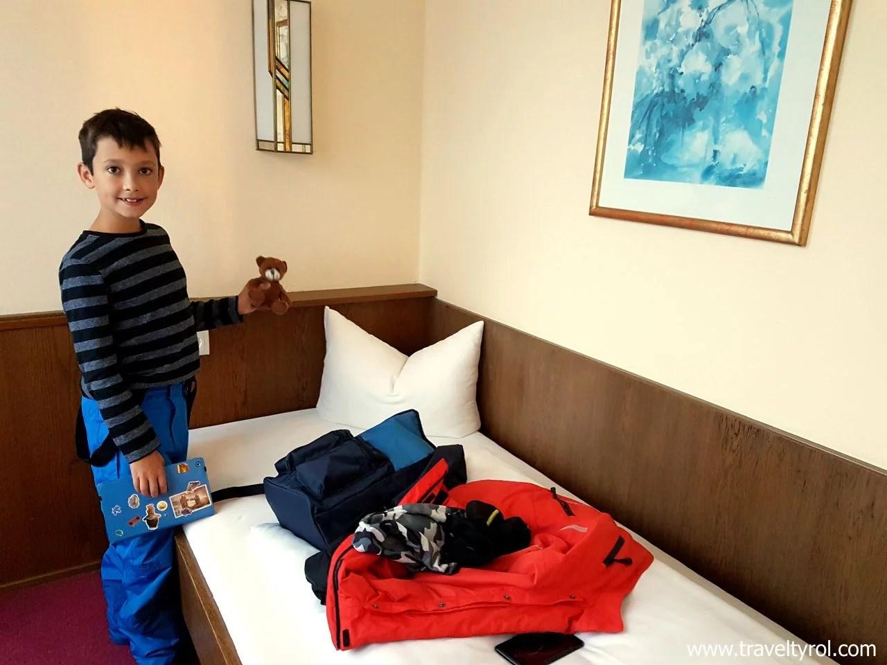 Children's room in Hotel Serles