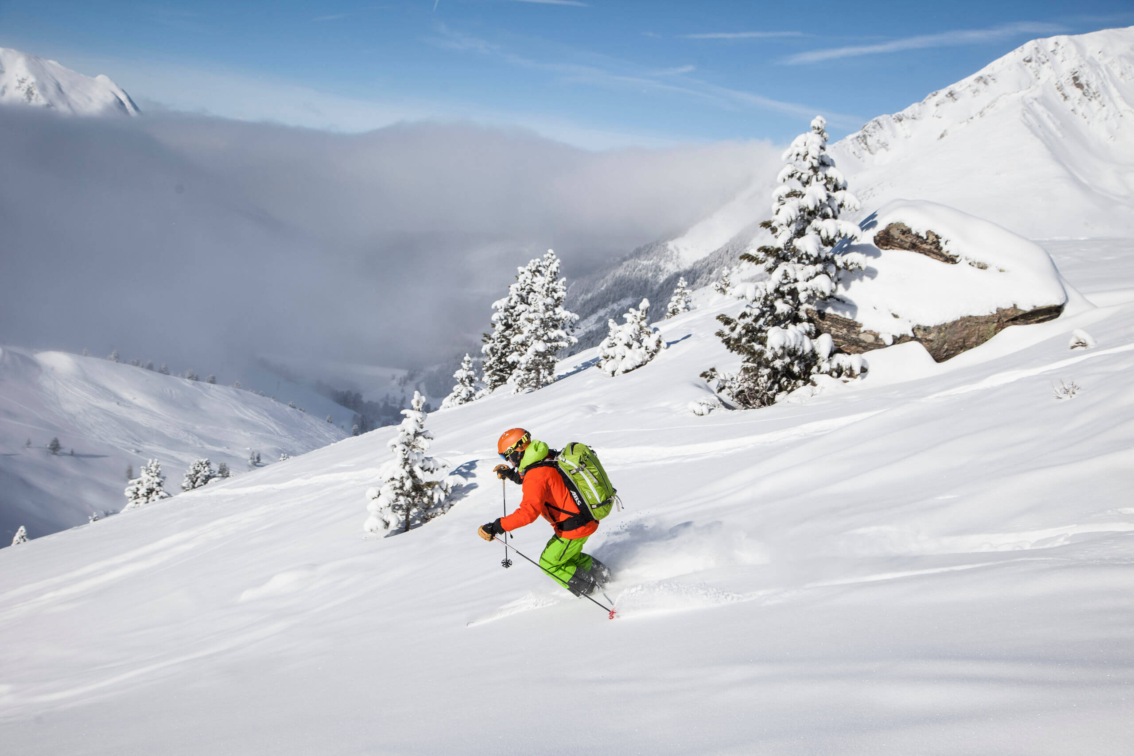 Kühtai is the highest Innsbruck ski resort. © Tirol Werbung Klaus Kranebitter