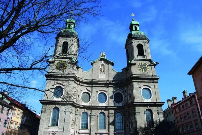 Cathedral of St. Joseph Innsbruck © TVB Innsbruck / Stadt Innsbruck