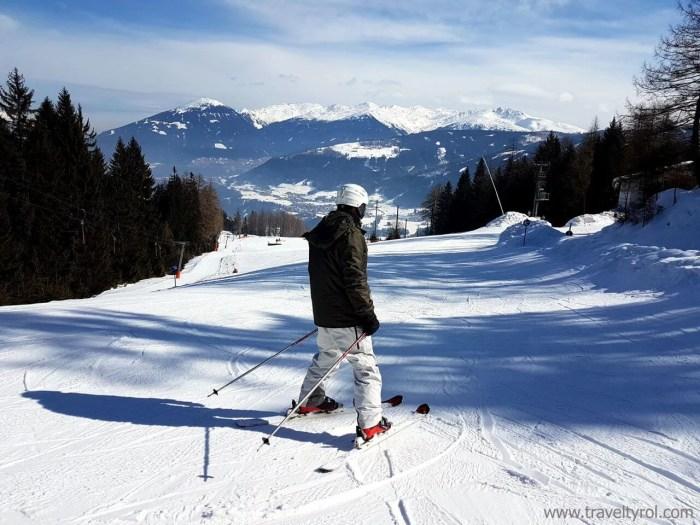 Schanzlin practice slope Schlick 2000 in Stubai.