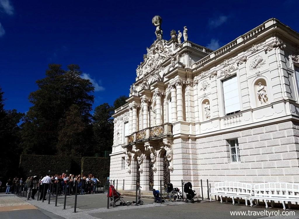 Linderhof Palace tours.