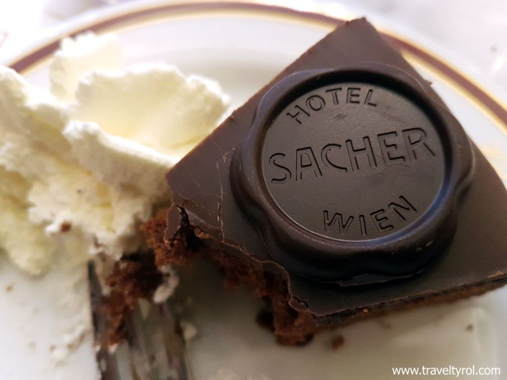 Original Sachertorte from Vienna.