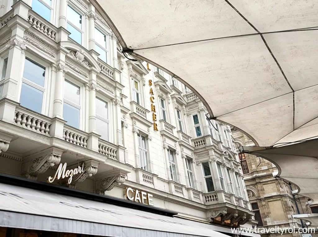 Café Mozart Vienna.