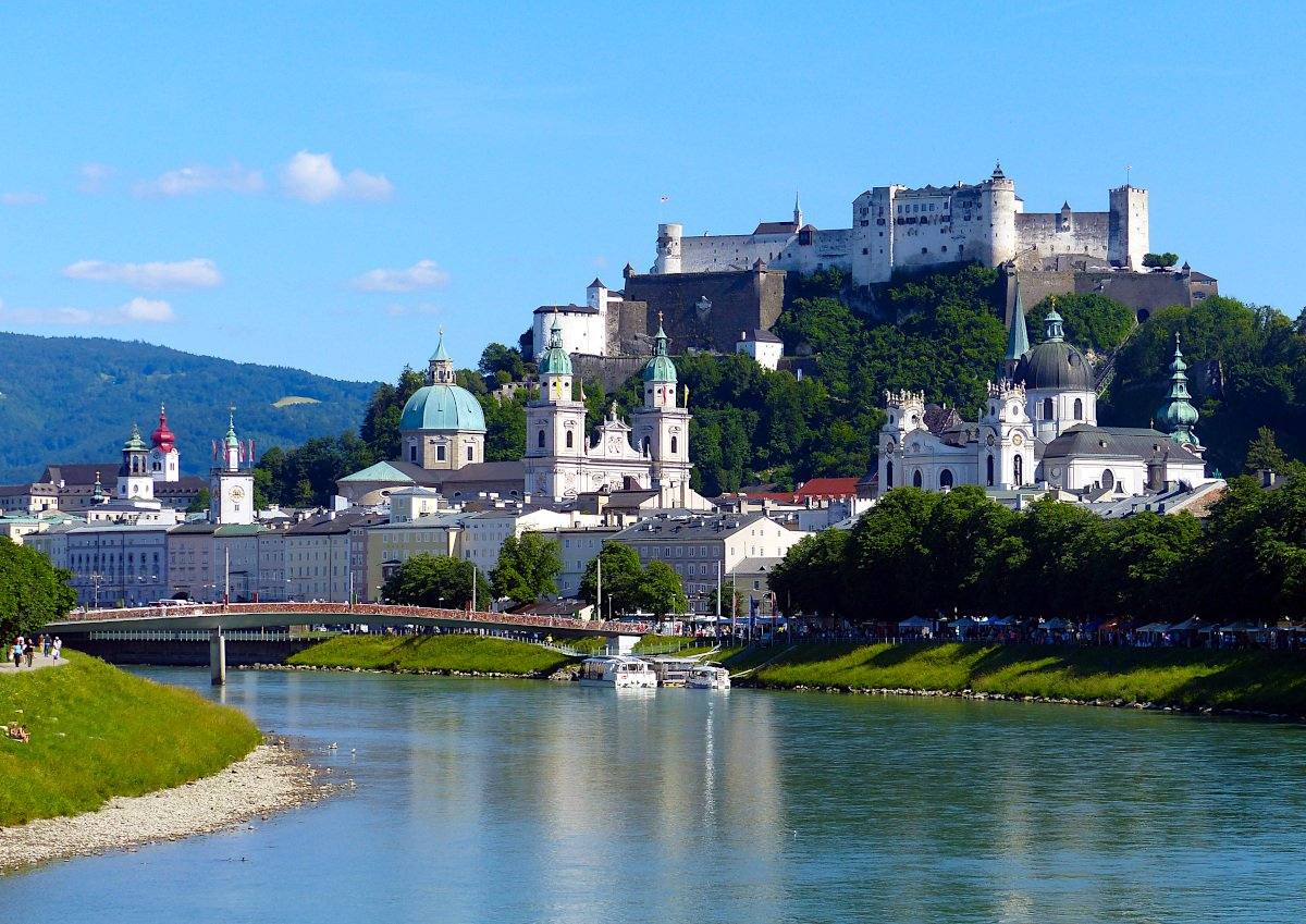 Salzburg is one of the best cities to visit in Austria.