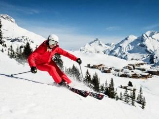 Ski Arlberg is the biggest ski resort in Austria.