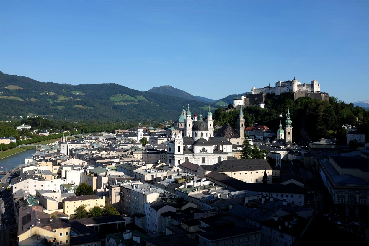 A trip to Salzburg is one of the easiest day trips from Vienna by train.