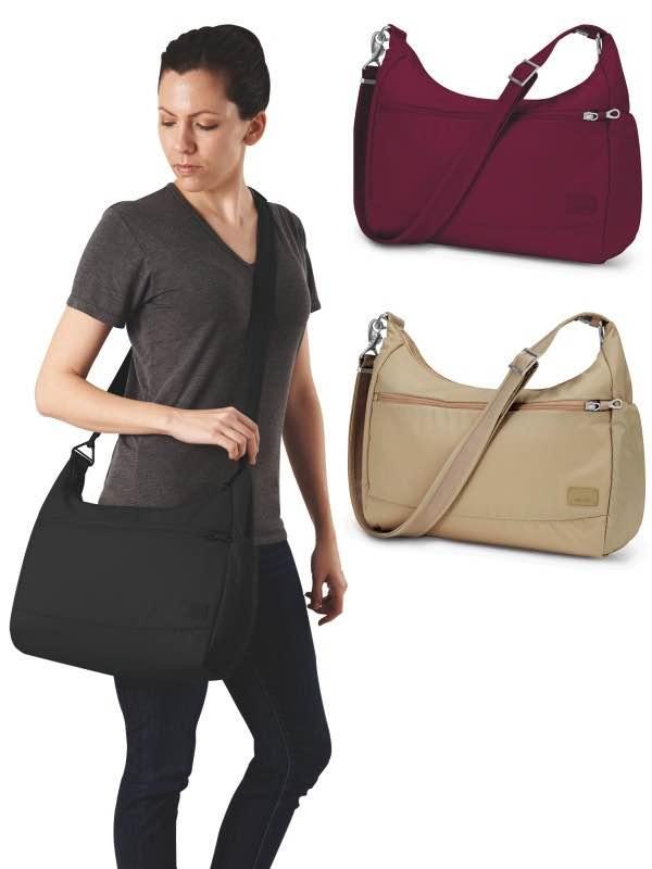 Citysafe CS200  AntiTheft Travel Handbag  Pacsafe CitysafeCS200Handbag by Pacsafe