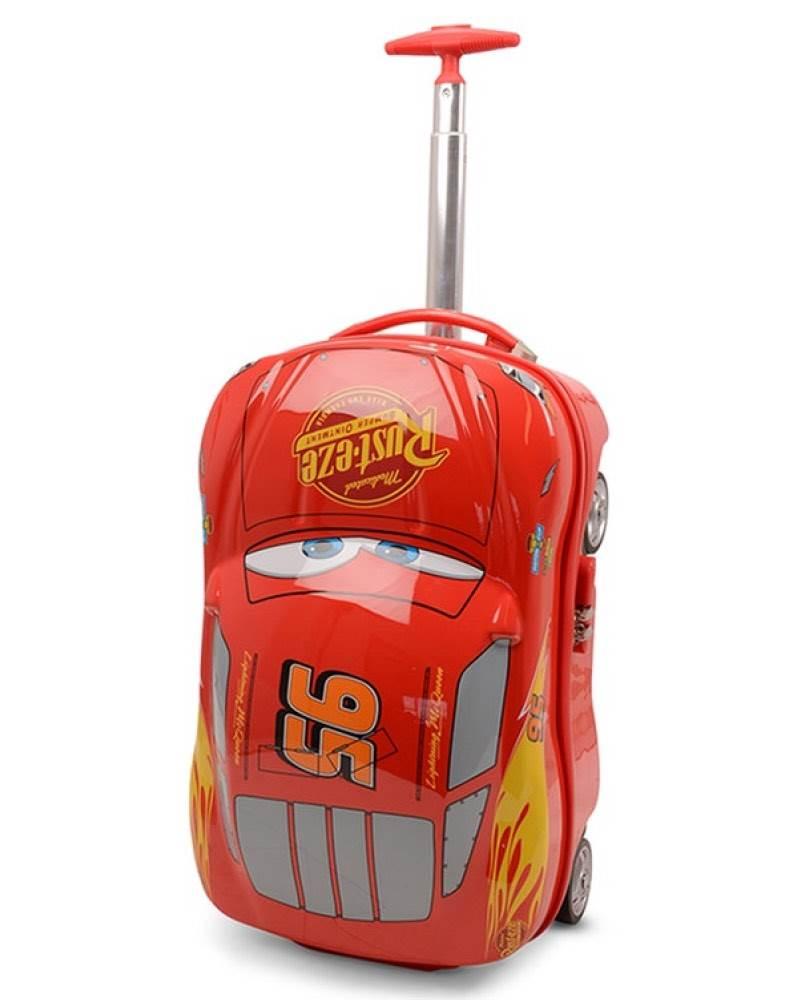 Disney Cars Lightning Mcqueen - 4 Wheel Carry- Cabin Case Dis122-19