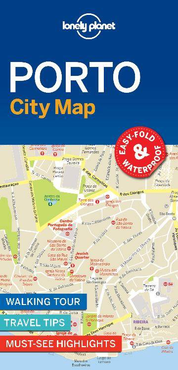 Lonely Planet Porto City Map By Lonely Planet 9781787014602