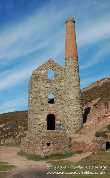 Tin mine, Cornwall