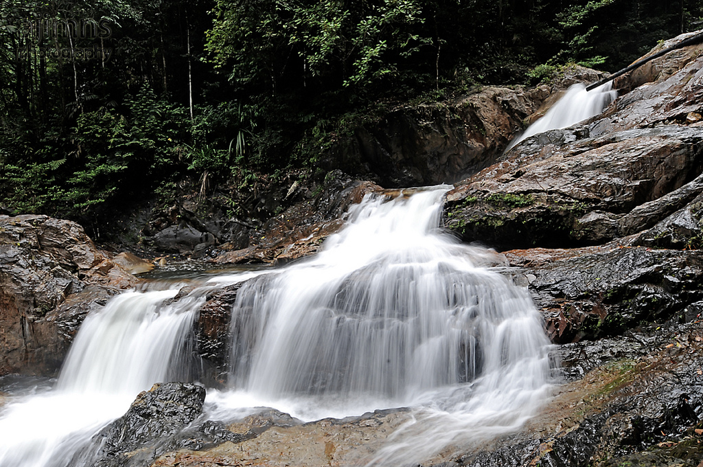 Waterfall Lake Kenyir