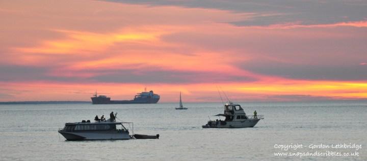 Sunsets over Darwin