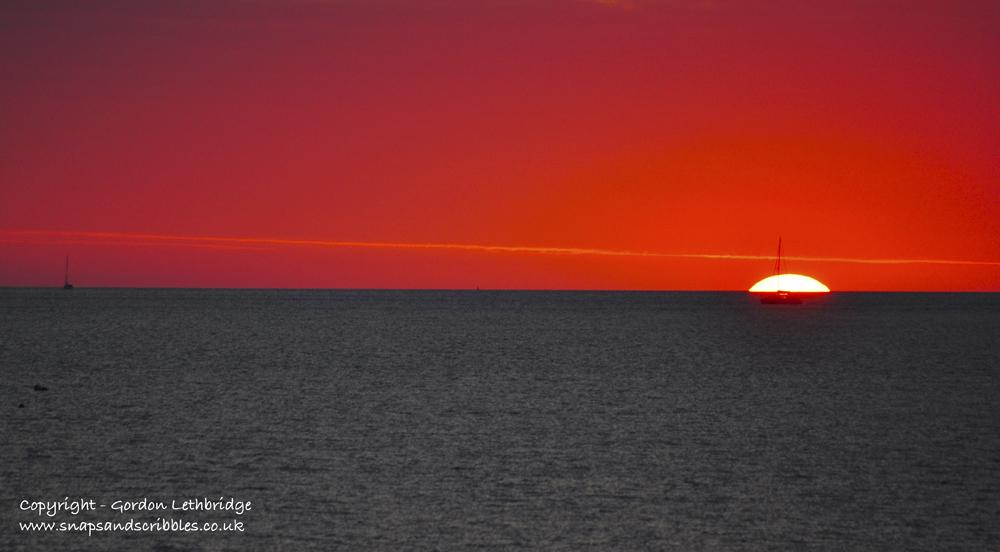 Darwin sunsets - simple