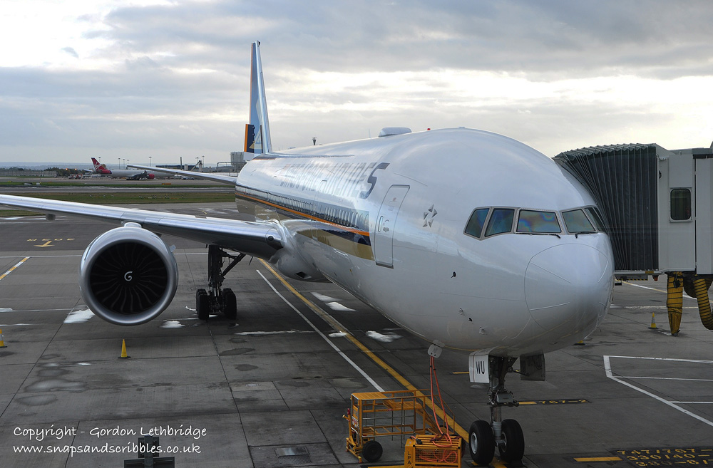 Singapore Airlines at LHR