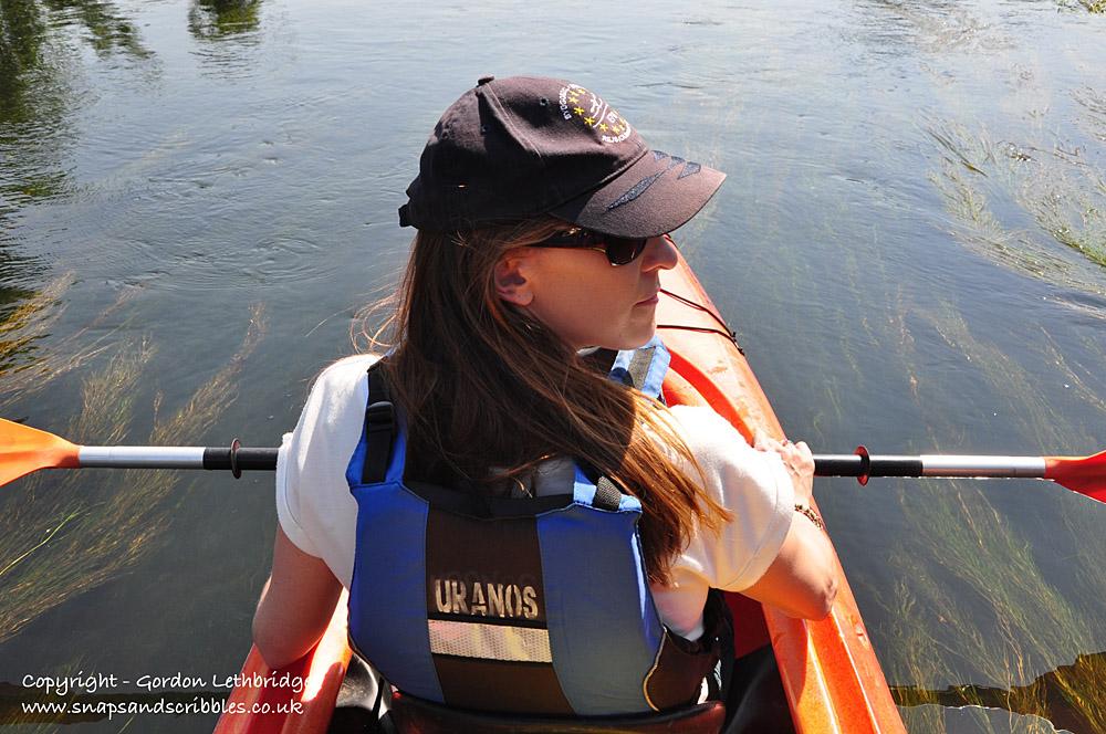 My paddling partner
