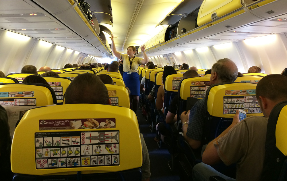 The Ryanair Cabin