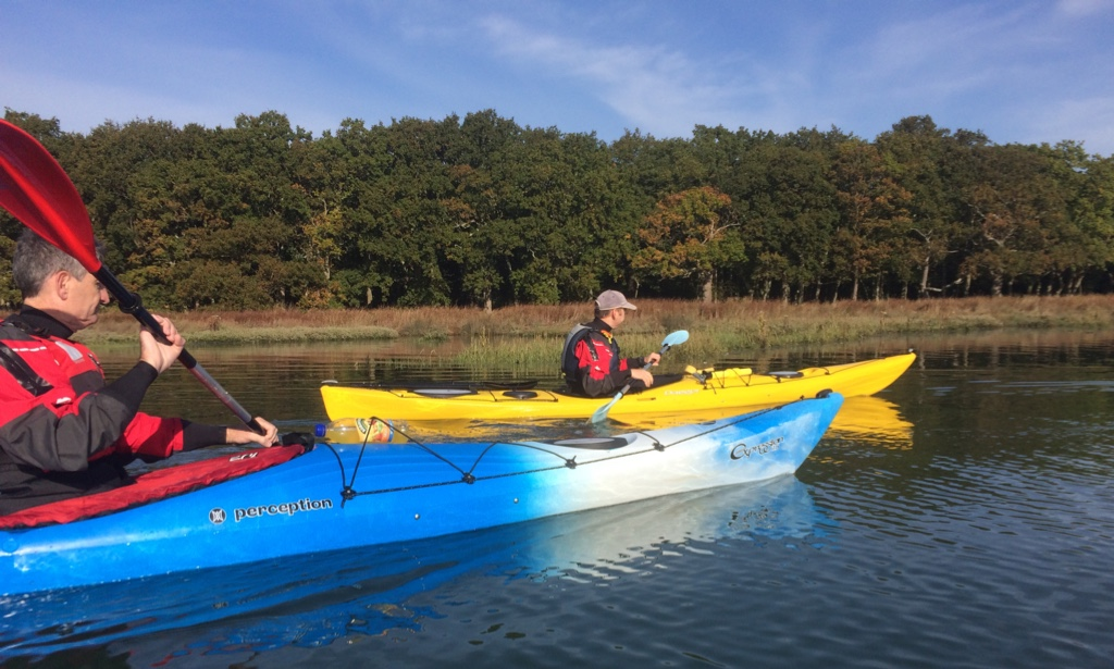 Kayaking the Hamble