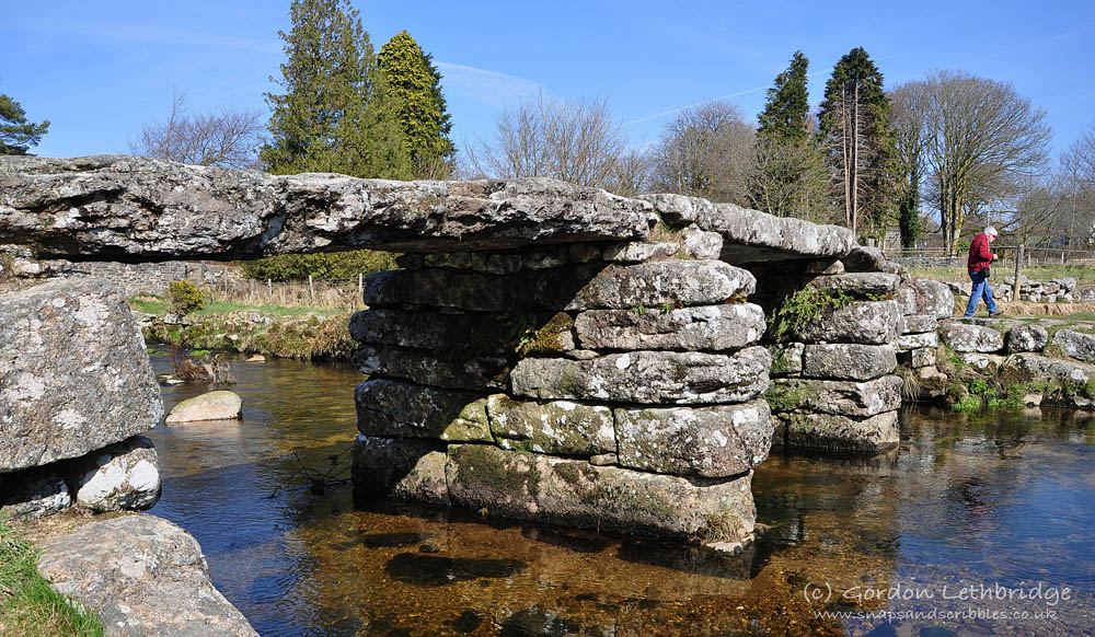Dartmoor, Postbridge clapper