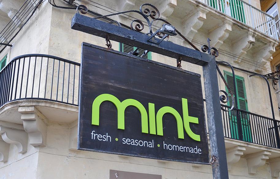 Mint Coffee in Sliema, Malta