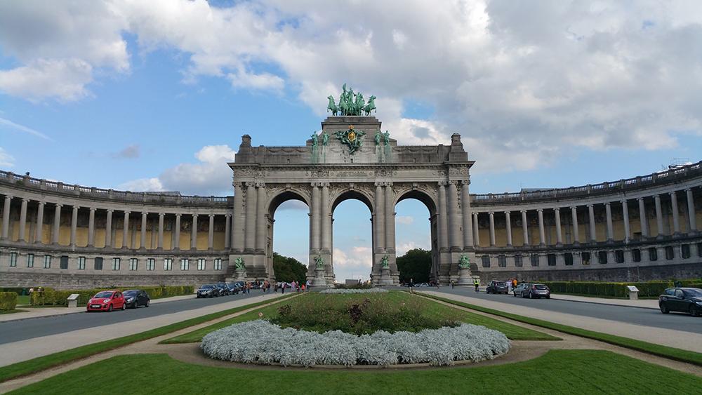 The Cinquantenaire Triumphal Arch, Brussels