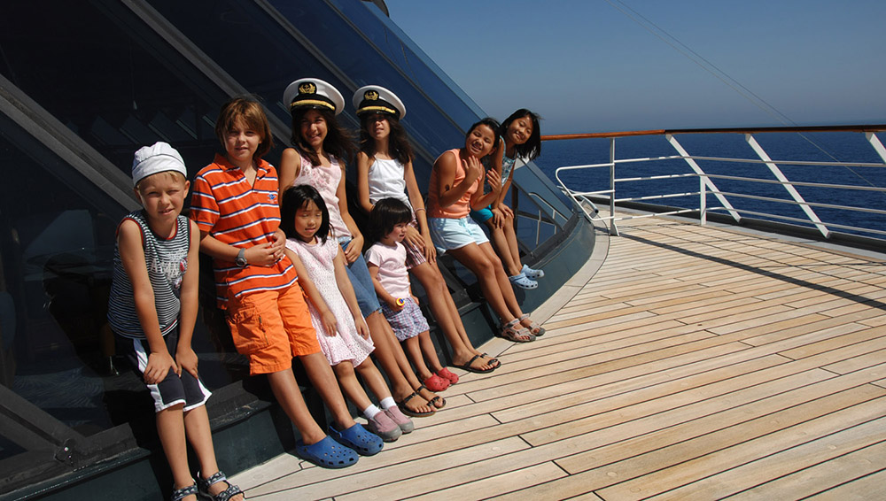 Child friendly cruising does exist