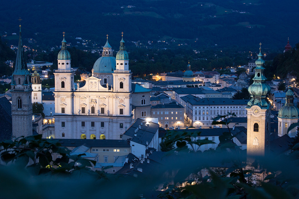 The Dom or Cathedral, Salzburg, Austria