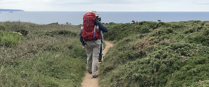South-west Coast Path: A walk between 2 Treats
