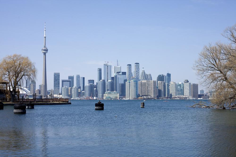 Where in the World Toronto skyline