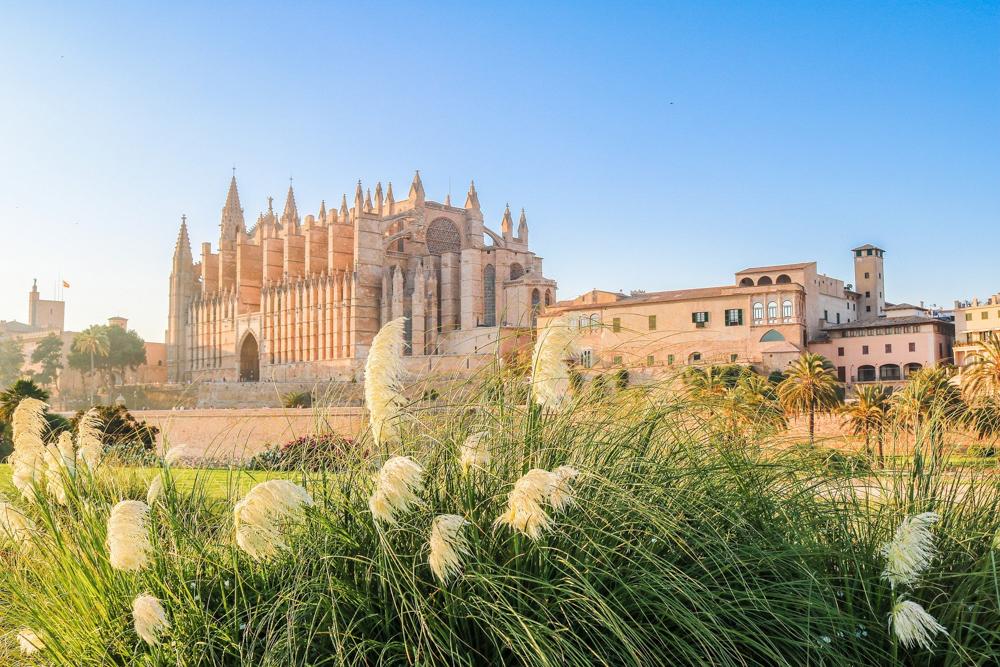 The cathedral of Palma de Mallorca