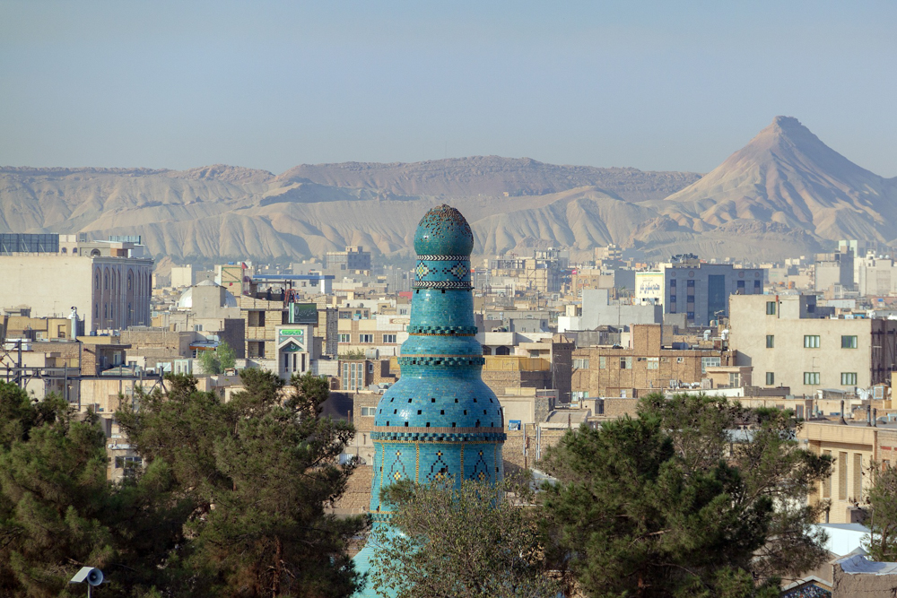 The Imamzadeh Shah Hamzeh mausoleum, Qom, Iran