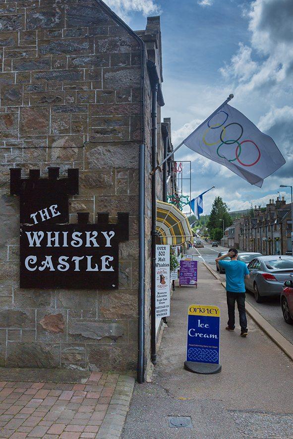 The Whisky Castle, Tomintoul, Moray, Scotland