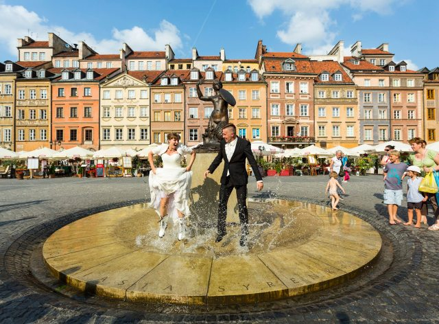 Newly Weds in Warsaw