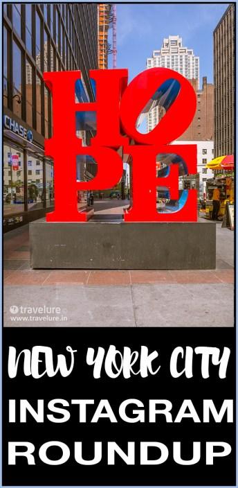 New York City (NYC) Instagram RoundUp