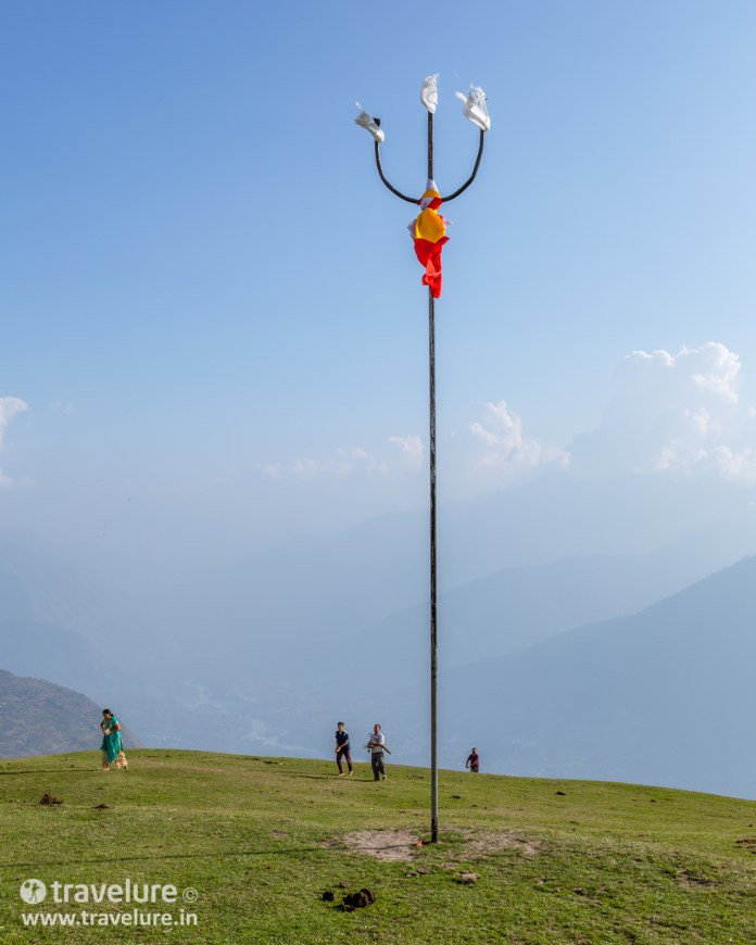 Another trident you see after the Bijli Mahadev Trek – Kullu Attraction