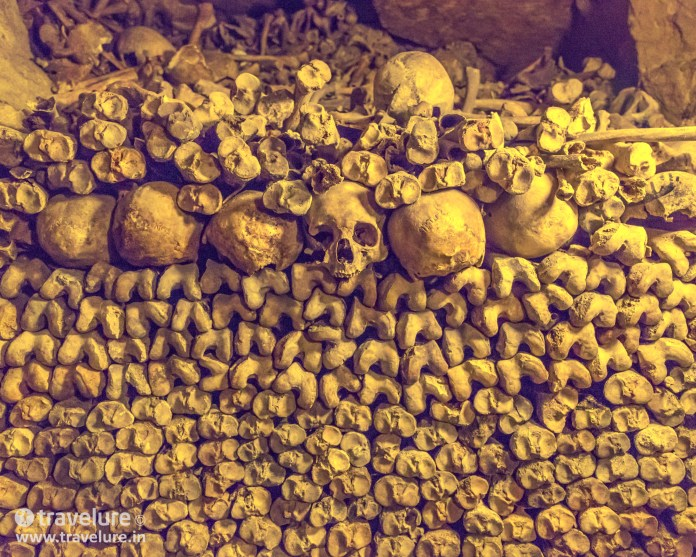 The Catacombs image from the Paris Instagram Roundup
