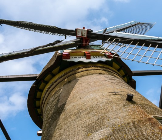 Amongst the Windmills of Kinderdijk, this one dates back to 1738 CE