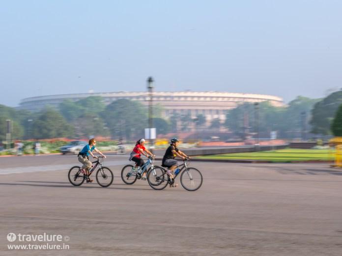 Parliament House in Instagram Roundup - Classic Delhi