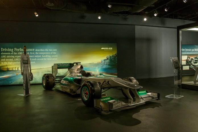 A Formula-1 Mercedes - Black Warrior Alert - Tuscaloosa