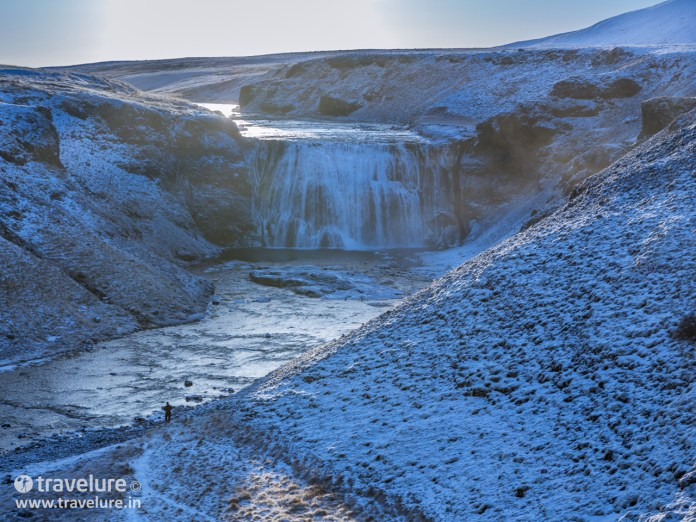 Þórufoss (Thorufoss) waterfall in Mosfellsdalur valley - Game of Thrones (GoT) Tour - Instagram Roundup - Iconic Iceland