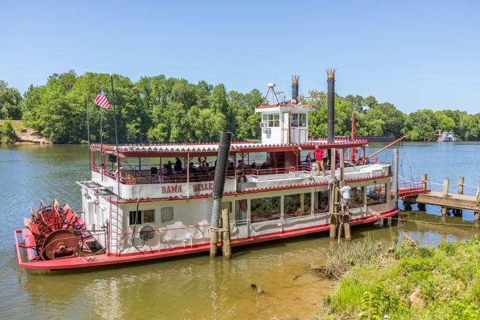 Bama Belle on the Black Warrior River - Tuscaloosa