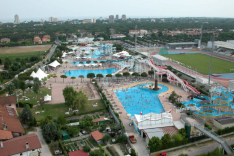 Lignano Sabbiadoro  popular sea site resort on the