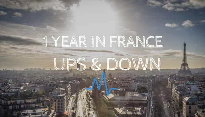 1 Year in France