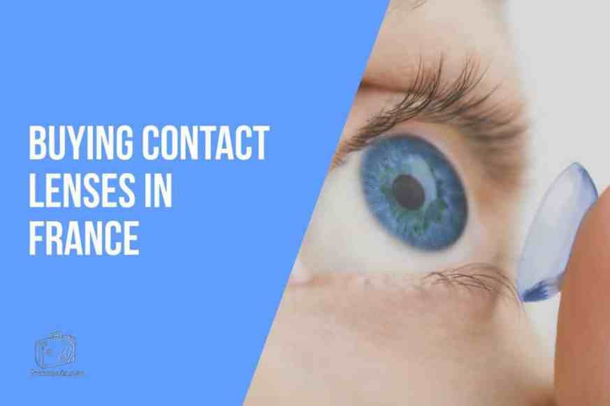 Buying Contact Lenses in France