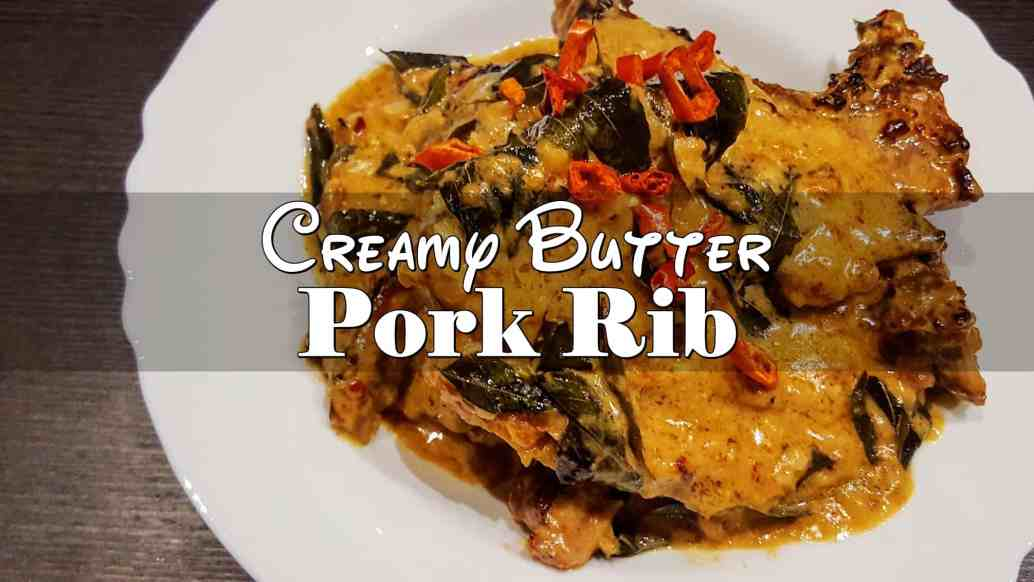 Creamy Butter Pork Rib