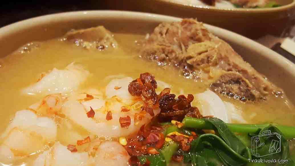 Prawn Pork Rib Bee Hoon Soup