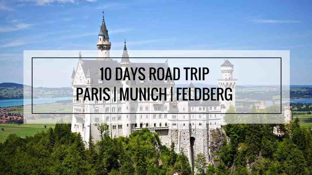 10 Days Road Trip - Europe