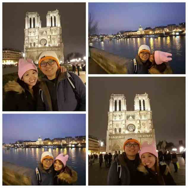 snap shots in Paris